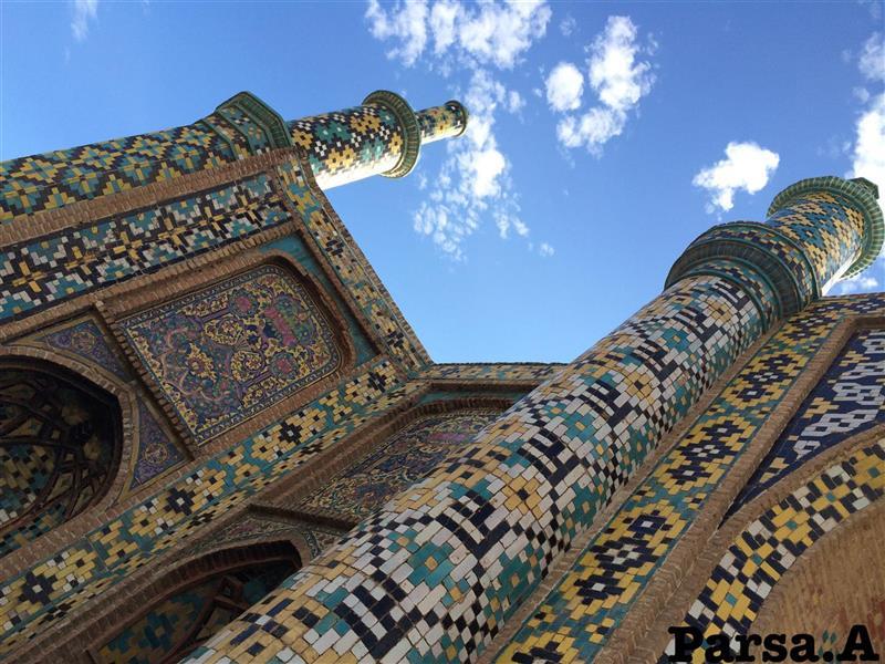 هنر عکاسی عکاسی فرهنگ ایرانی عبدالرضا پارسا  دروازه درب کوشک / قزوین