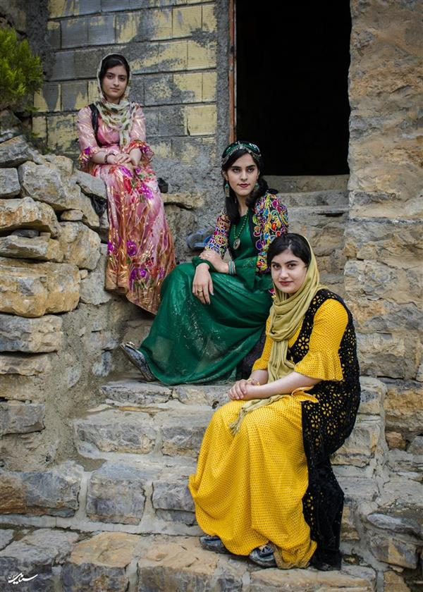 هنر عکاسی عکاسی فرهنگ ایرانی سیامک امیدی دختران اورامان