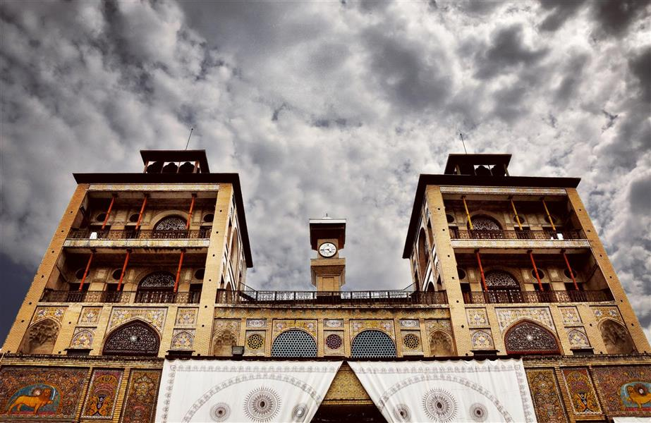 هنر عکاسی عکاسی فرهنگ ایرانی عطیه بیگی شمس العماره ، کاخ گلستان