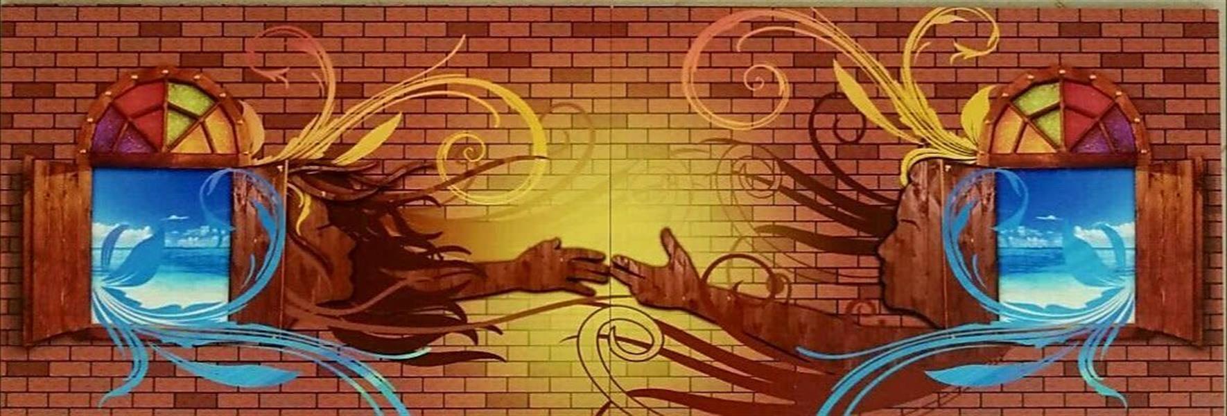 هنر نقاشی و گرافیک تصویرسازی ندا مومن نام اثر: #دو پنجره مرداد۱۳۹۶