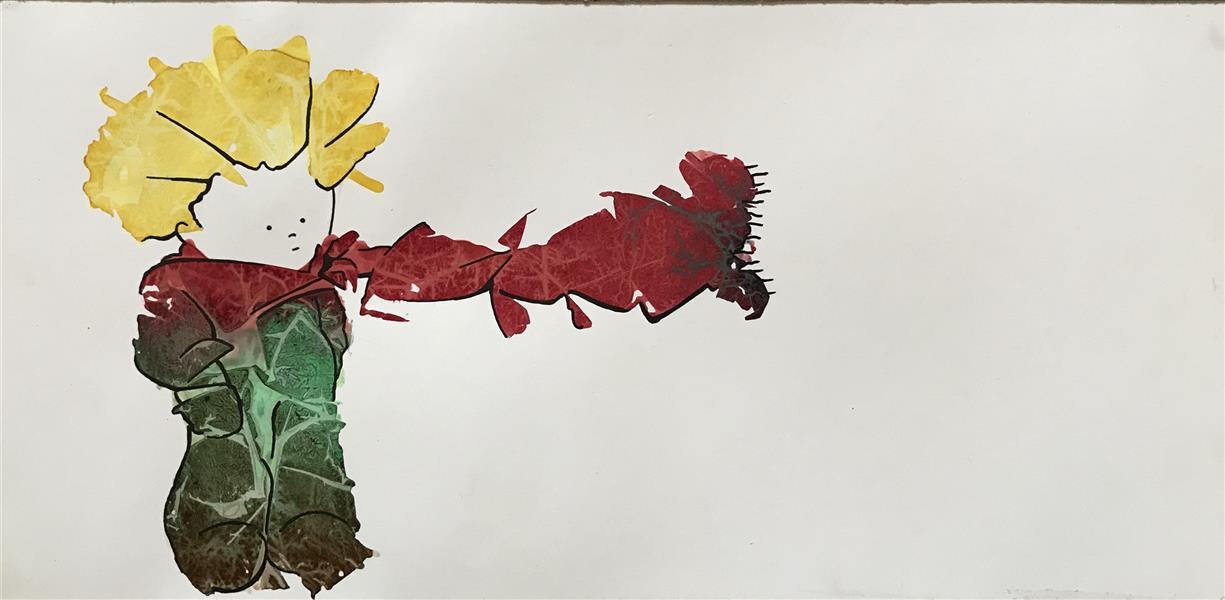 هنر نقاشی و گرافیک تصویرسازی ZarYas #شازده کوچولو