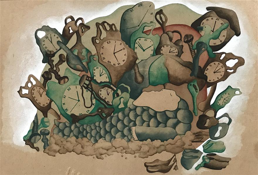هنر نقاشی و گرافیک تصویرسازی ZarYas #مردی که همه چیز،همه چیز،همه چیز داشت
