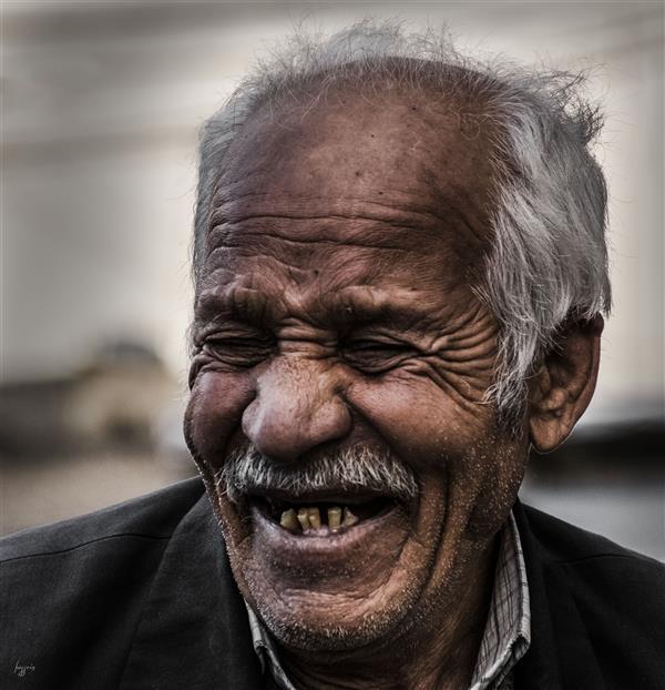 هنر عکاسی عکاسی پرتره هنری حسین یزدانفر از ته دل