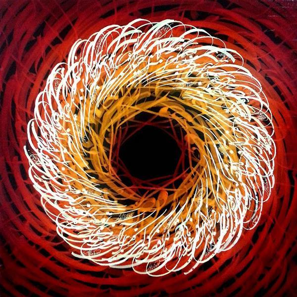هنر خوشنویسی اشعار مولانا گالری خوشنویسی چلیپا