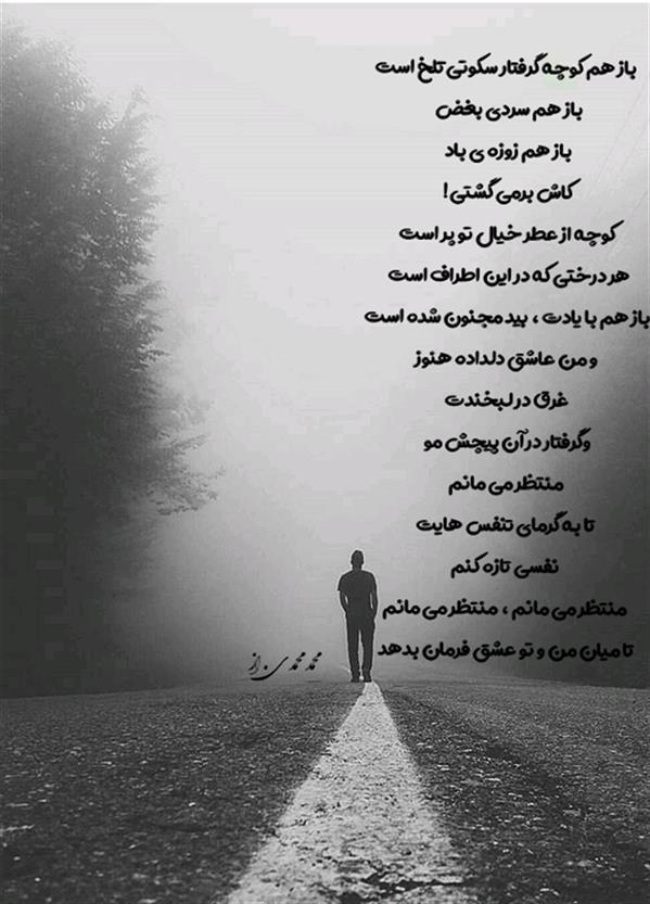 هنر شعر و داستان شعر عاشقانه محمّد محمّدی ازندریانی  #محمد محمدی . از