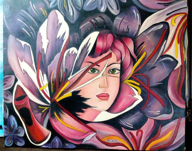 هنر نقاشی و گرافیک نقاشی سورئال Abdolreza Alfteh #رنگ #روغن#ابعاد #50#60 #با سپاس#درود#ازهنرمندان#عزیز~~~~