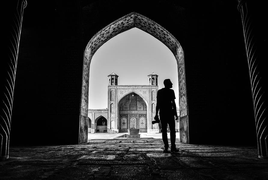 هنر عکاسی عکاسی سیلوئت یا ضد نور محسن لیراوی مسجد وکیل شیراز #سیلوئت #مسجد_وکیل #شیراز
