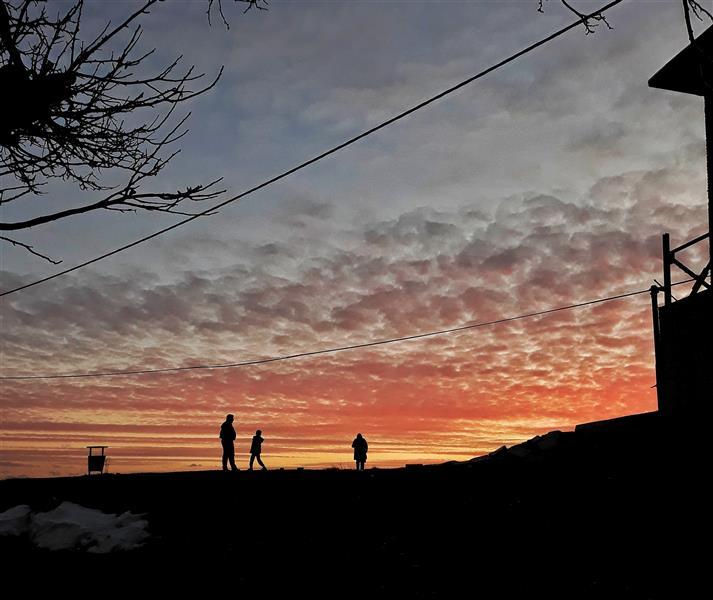 هنر عکاسی عکاسی سیلوئت یا ضد نور sky-hosseini