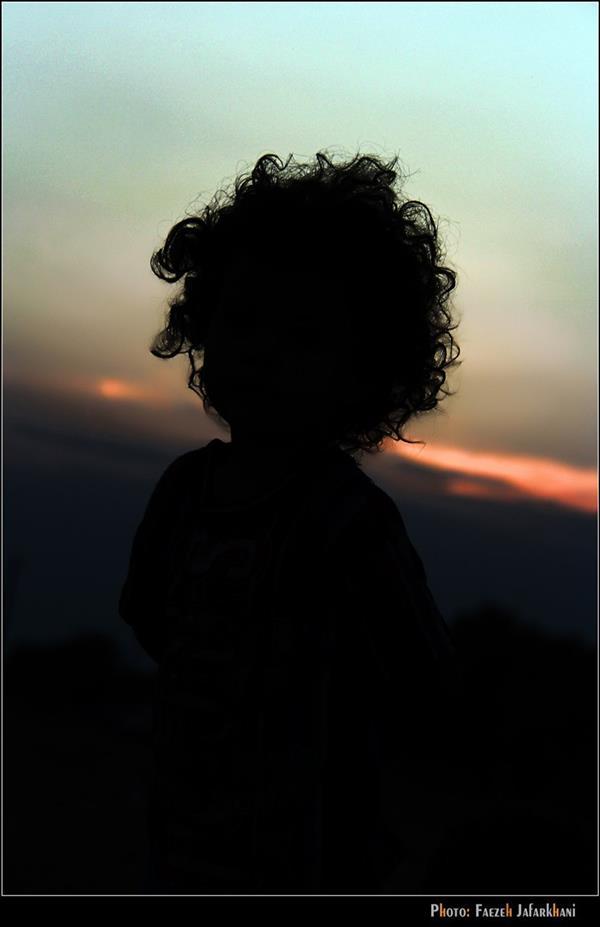 هنر عکاسی عکاسی سیلوئت یا ضد نور فائزه جعفرخانی بندرعباس - نوروز 93