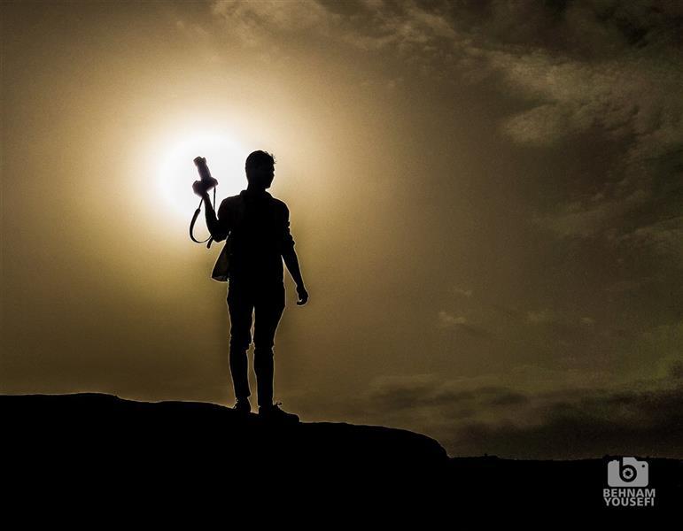 هنر عکاسی عکاسی سیلوئت یا ضد نور بهنام یوسفی