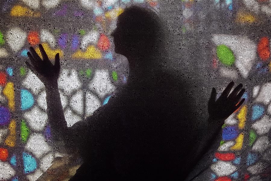 هنر عکاسی عکاسی سیلوئت یا ضد نور محمد دادستان Woman Sketching #ضد_نور #رنگ #سایه #سیلوئت #کانسپچوال #مفهومی #مینیمال #مود #minimal #conceptual #mood #silhouette