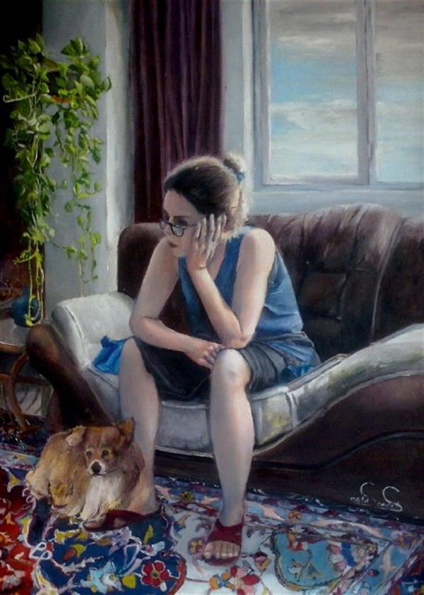 هنر نقاشی و گرافیک نقاشی پنجره saeid saadat بدون عنوان  رنگ و روغن - 70 * 50 روی بوم فشرده