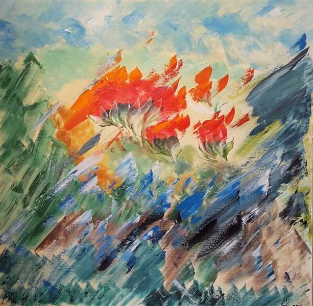 Bilderesultat for جنگ نقاشی